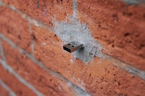Dead drops: il nuovo sistema file sharing tra le mura cittadine ~ Che E-dea! | All around Social Network | Scoop.it