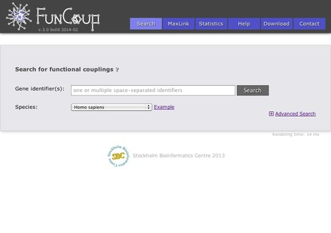 FunCoup - Networks of functional couplings/associations | bioinformatics-databases | Scoop.it