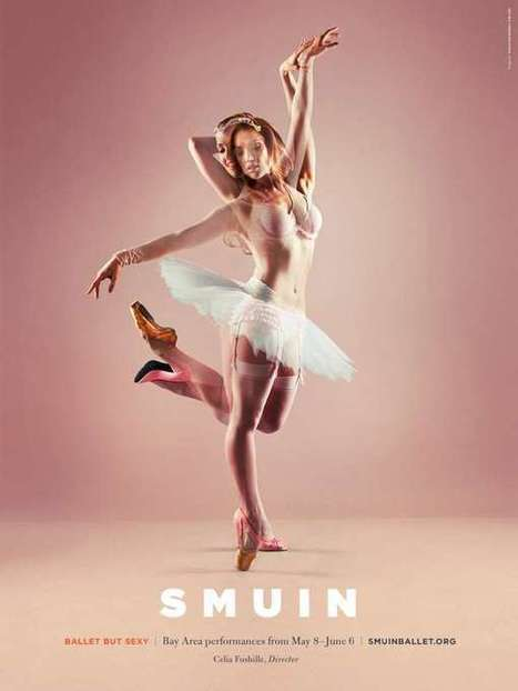 Superimposed Ballet Prints | Arte y Fotografía | Scoop.it