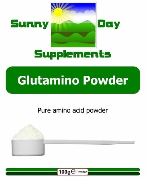 Glutamino Powder (L-Glutamine) | Sunny Day Herbal Supplements, Buy Now & Jesus Saves | Scoop.it