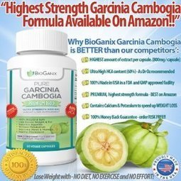 Amazon.com: Pure Garcinia Cambogia Extract PREMIUM 1600mg with 60% HCA [SALE!] **HIGHEST POTENCY ON AMAZON** - Dr Oz Recommended for Fastest Natural Weight Loss, with NO DIET, NO EXERCISE and NO EF... | Travel Vacations | Scoop.it