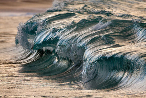 These Close-Ups of Tiny Waves Look Like Miniature Tsunamis ... | surf | Scoop.it