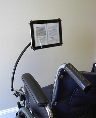 Tab Grabber eReader Holder for Wheelchairs | Aging Into Disability | Scoop.it