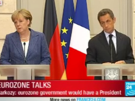 """Merkel And Sarkozy: Eurozone Endgame """"Before The Month Is Over""""   Eurozone   Scoop.it"""