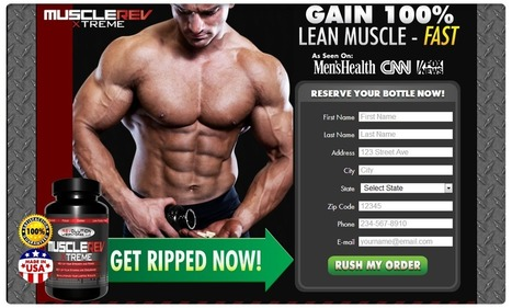 Muscle Rev Xtreme Muscle Building supplement Reviews - Get Free Trial | Muscle Rev Xtreme | Scoop.it