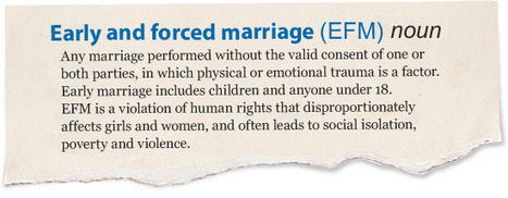 End early and forced marriage - Because I am a Girl - Plan UK   Arranged child marriages   Scoop.it