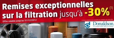 Offre exceptionnelle sur la filtration Donaldson® | Blog Haladjian Frères | Engins de Travaux Publics | Scoop.it