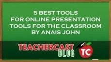 5 Best Online Presentation Tools for the Classroom | Technology, Motivation, & Engagement | Scoop.it