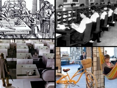 A brief history of the workspace | Deskmag | Coworking | Le télétravail | Scoop.it