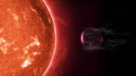 Hot super-Earths stripped by host stars: 'Cooked' planets shrink due to radiation | Amazing Science | Scoop.it