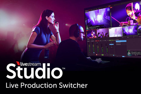Portable Video Mixers for Your Live Video Streaming Event from LiveStream Studio | Wepyirang | Scoop.it