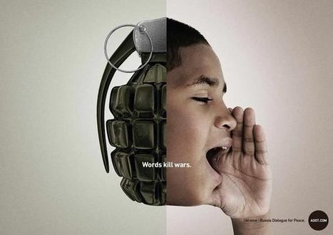 ADOT Campaign for a Ukraine, Russia Dialogue for Peace | ■Marketing Creativo - ADV - Campaign | Scoop.it