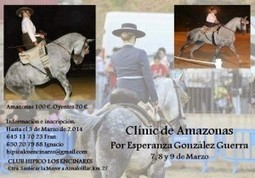 Clinic de Doma a la Amazona en Sevilla y Huelva | Caballos | Scoop.it