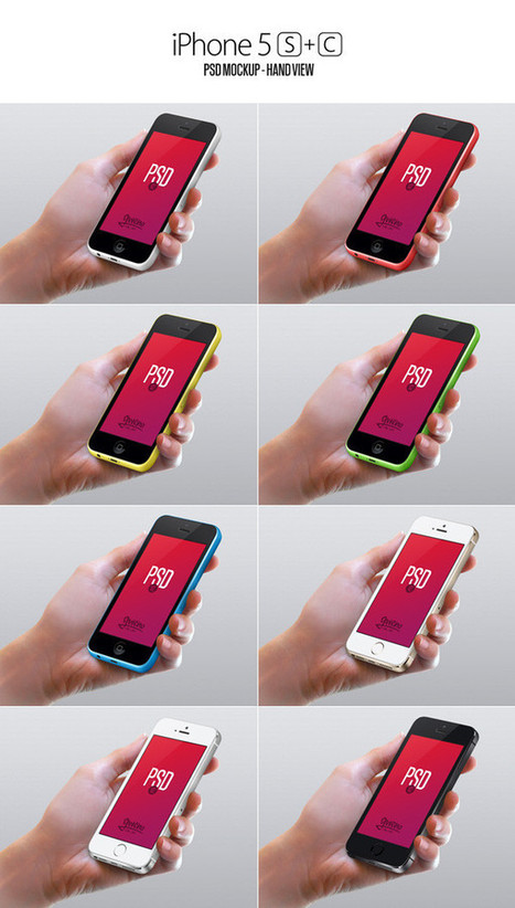Free Mobile Mockups To Use In Your Next Design   mameara   Scoop.it