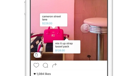 Instagram's new shoppable photos are a glimpse at its e-commerce future | Social Inside | Scoop.it
