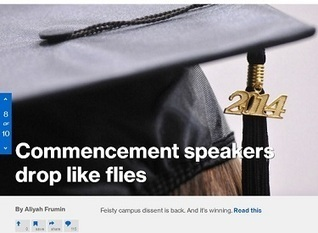 MSNBC Cheers 'Feisty Campus Dissent' Forcing Commencement Speakers to 'Drop Like Flies'   News You Can Use - NO PINKSLIME   Scoop.it