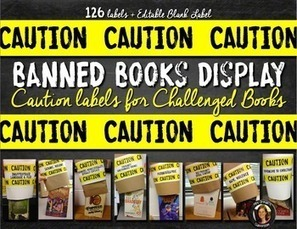Banned-Books-Caution-Labels-2131148 Teaching Resources - TeachersPayTeachers.com | Resources for Teachers | Scoop.it