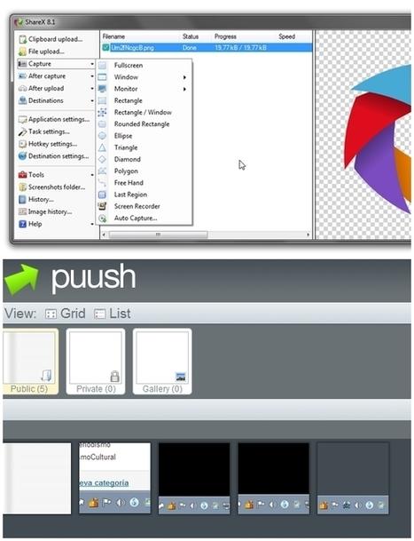 2 herramientas para hacer capturas de pantalla | Educacion, ecologia y TIC | Scoop.it