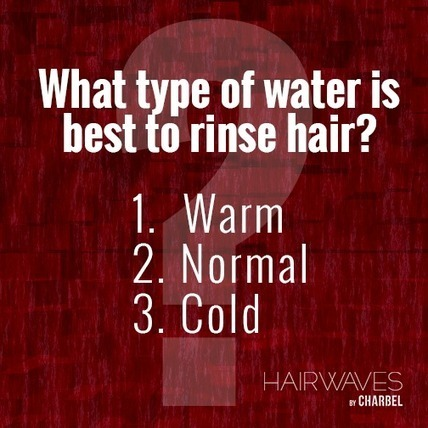 What type of water is best to rinse hair? | Fashion in UAE | Scoop.it