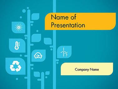 Ecology Tree Presentation Template | Presentation Templates | Scoop.it