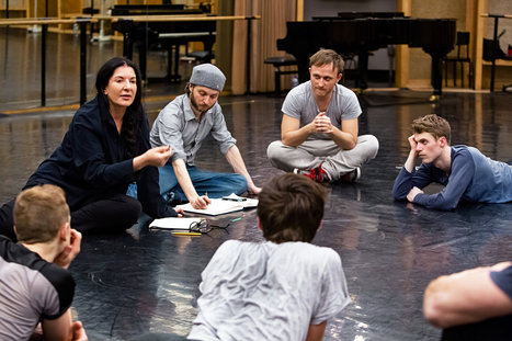 Marina Abramovic, With 'Boléro' at Paris Opera Ballet | Dance News | Scoop.it