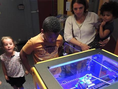 Une grenouille grâce à une imprimante 3D | Espace Mendes France, Poitiers | Scoop.it