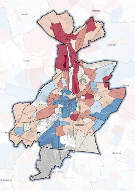 Making of: a real estate price map for the +19.000 neighbourhoods of Belgium | Maarten Lambrechts | #Dataviz - #OpenData | Scoop.it