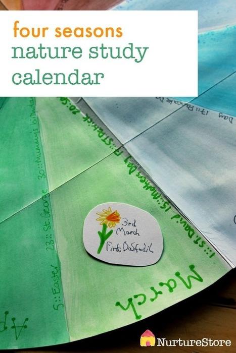 Seasonal nature study calendar - NurtureStore | Learn through Play - pre-K | Scoop.it