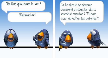 Dois-je virer mon webmaster et embaucher un community manager ?   Gérer l'information numérique : en voiture Simone !   Scoop.it