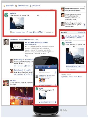 Publicité facebook dans le newsfeed : résultats et étude de cas   Réseaux sociaux   PME   Scoop.it