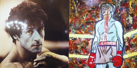 L'acteur américain Sylvester Stallone expose ses tableaux au ... - Le Huffington Post Quebec | Expressionnisme en peinture et sculpture | Scoop.it