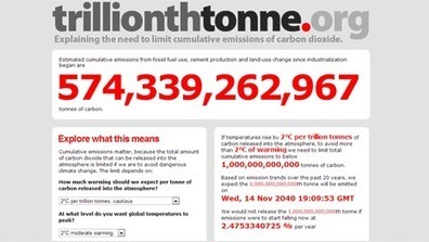 How Long Until World Emits Its Trillionth Tonne of CO2? By Sophie Yeo   Oil industry   Scoop.it