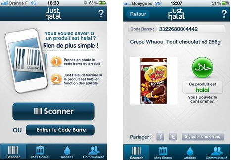 Just Halal, l'application mobile à destination de la communauté musulmane.  | agro-media.fr | Actualité de l'Industrie Agroalimentaire | agro-media.fr | Scoop.it