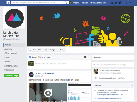 Un nouveau design pour les pages #Facebook ?  | Social media | Scoop.it
