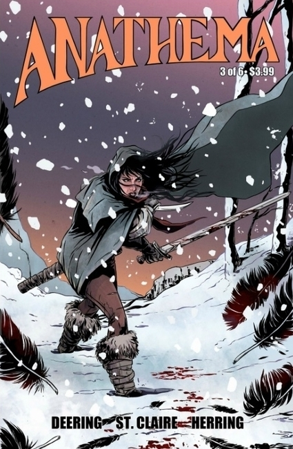 Review: Anathema, From One To Three Of Six - Bleeding Cool   Ladies Making Comics   Scoop.it