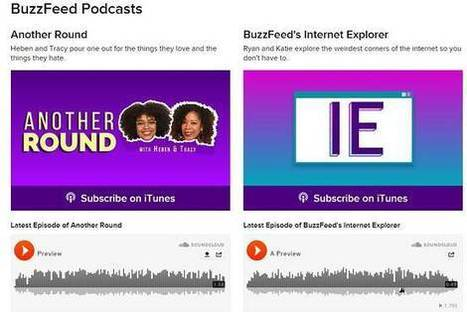 BuzzFeed Joins the Podcast Frenzy - Wall Street Journal (blog) | Podcasting | Scoop.it