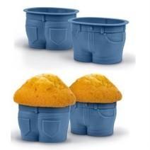 Unique Baking Cups looks like Pants Jeans | unique products | Scoop.it