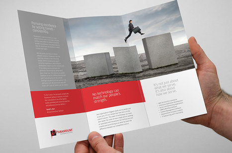 Print & Advertising Design of Paramount - IT Training & Recruitment Firm | Branding Advertising News Thoughts | Scoop.it