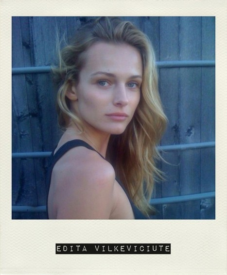 Edita Vilkeviciute Shares Her Beauty Notes | coupons Box | Scoop.it