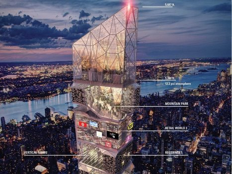 18 brilliant ideas for the skyscraper of the future | Entrepreneurship, Innovation | Scoop.it