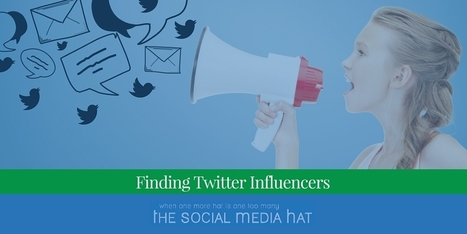How To Find Influential People Who May Be Tweeting Your Content | Digital Brand Marketing | Scoop.it
