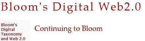 Bloom's Digital Web2.0 | מחשבים וחינוך | Scoop.it