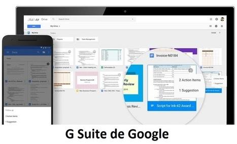 G Suite de Google intègre 5 nouvelles fonctionnalités de productivité | Freewares | Scoop.it