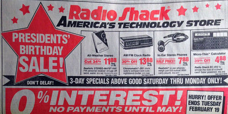 Everything a 1991 Radio Shack Ad, worth $5K, I Now Do With My SmartPhone | Innovation & Institutions, Will it Blend? | Scoop.it
