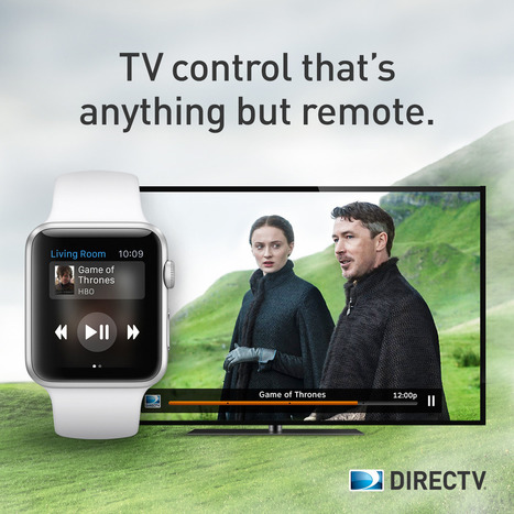 Apple Watch Update is Just One Part of DIRECTV's Bet on Wearables | Screen Harmony | Scoop.it
