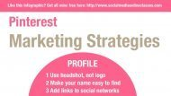 64 Tips and Pinterest Marketing Strategies | Social Media Today | Social Media for Small Business | Scoop.it