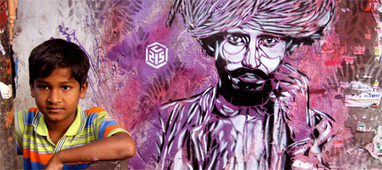 C215, graffiteando around the world... | El Ninho Naranja | LOS 40 SON NUESTROS | Scoop.it