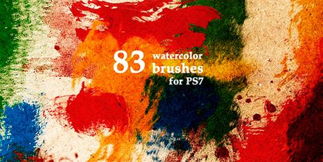 100 Awesome Photoshop Brushes Sets You Should Have | Webdesign & Graphics | Scoop.it