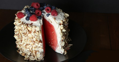 How to Make a No-Bake Watermelon Cake, in Pictures | Food And Cook | Scoop.it