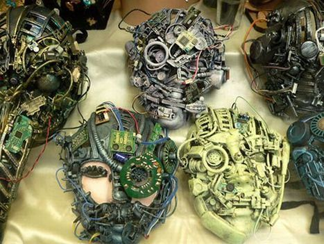Most amazing recycled creations from electronic waste - Promoting Eco Friendly Lifestyle to Save Enviornment - Ecofriend | Psychology of Consumer Behaviour | Scoop.it